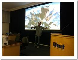 Ramon Durães palestrando sobre TFS/SCRUM no 8ª Seminfo 2011  (Unit/Aracaju)