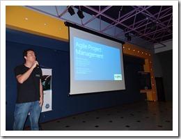 Ramon Durães palestrando no DevBrasil OpenDay 2012 em Sorocaba sobre Visual Studio / Team Foundation Server