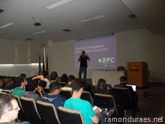 Ramon Durães palestrando em São José do Rio Preto sobre Visual Studio Team Foundation Server usando Scrum