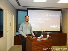 Ramon Durães palestra sobre qualidade de software SucesuSP 2013