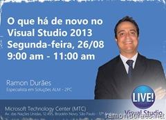 Estréia do Visual Studio Live no Brasil
