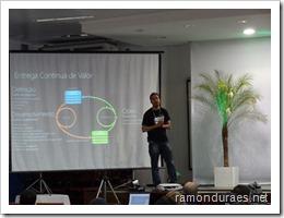 Ramon Durães palestrando sobre ALM no SerraStartec 2013 em Lages