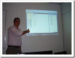 Ramon Durães, Treinamento TFS/ALM/SCRUM no TCE em Belém