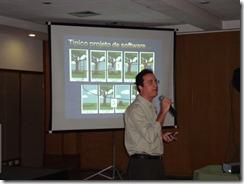 Ramon Durães palestrando no SBCARS 2009 em Natal