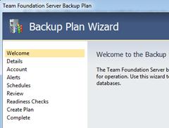 Backup Plan Wizard